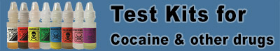 Testing Kits for Cocaine and Other Drugs